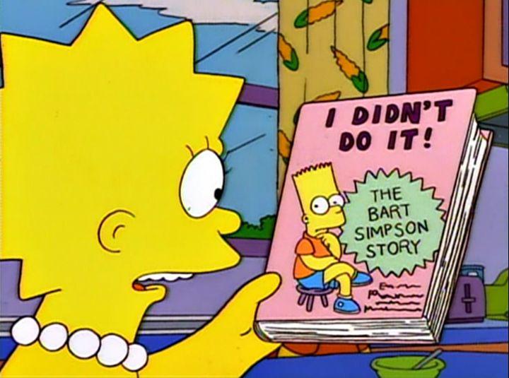 Bartolomeu J. Simpson - Bart The Simpsons