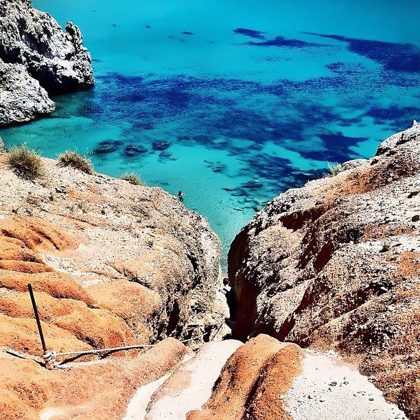 yianniskyriazis:  Tsigrado Beach - Milos Island
