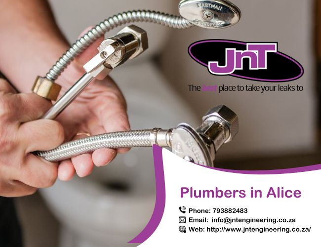 Jnt Engineering 24 Hour Plumbing is prepared to service you at any time. Our educated & licensed plumbers will attend your area at any time of the day in Alice. Our town plumbers are reliable, efficient, fast and usually expert.