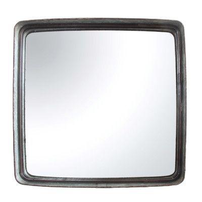 Creative Co-Op Farm Square Iron Framed Mirror