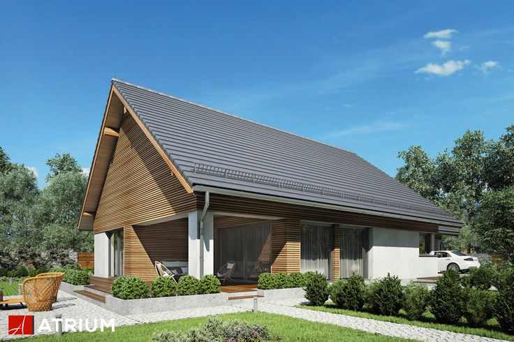 Projekt Merlin SP - elewacja domu
