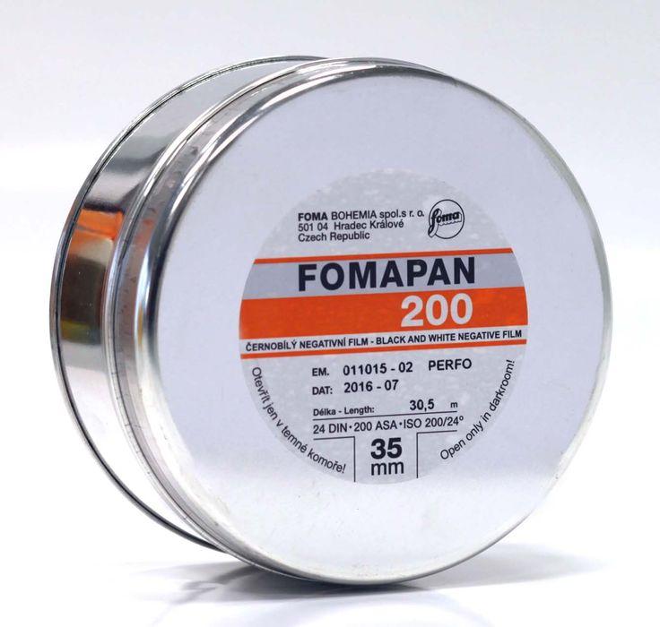 FOMA FOMAPAN 200 CREATIVE 135x30 m BOBINA  #pellicola #fotografia #darkroom  www.fotomatica.it | info@fotomatica.it