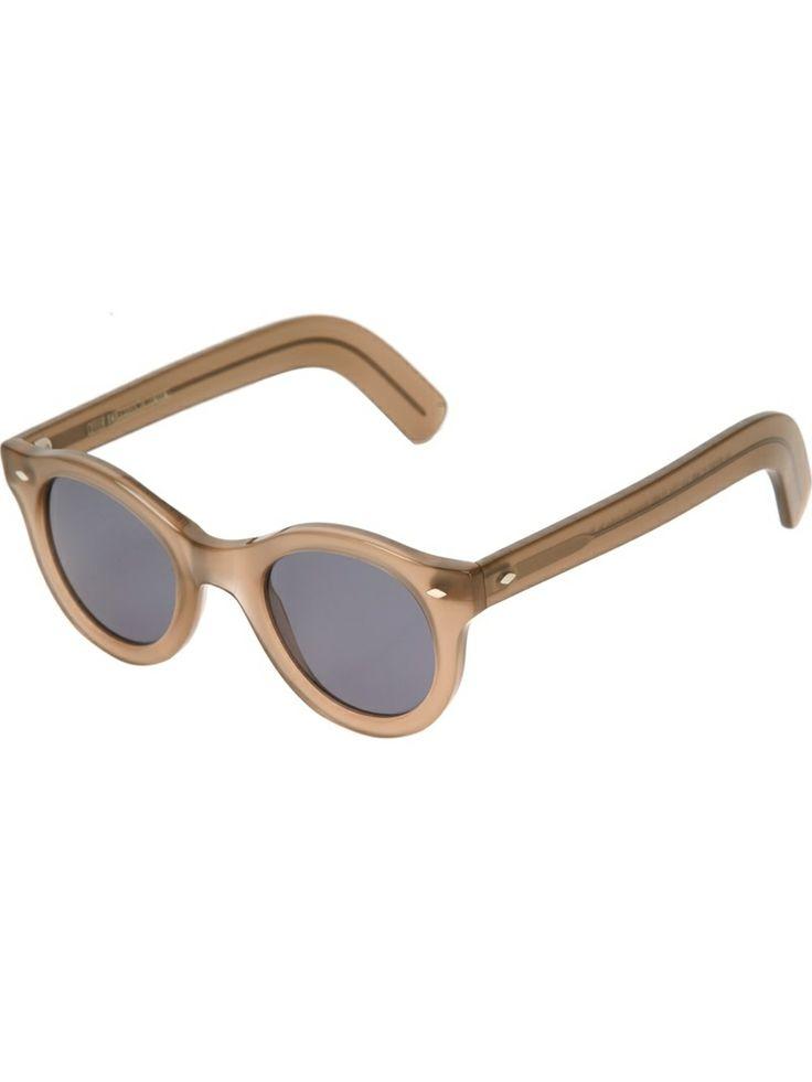 CUTLER & GROSS chunky frame sunglasses