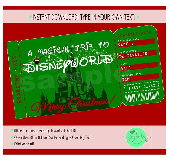 Best 25+ Tickets to disneyland ideas on Pinterest Disneyland - fake airline ticket maker
