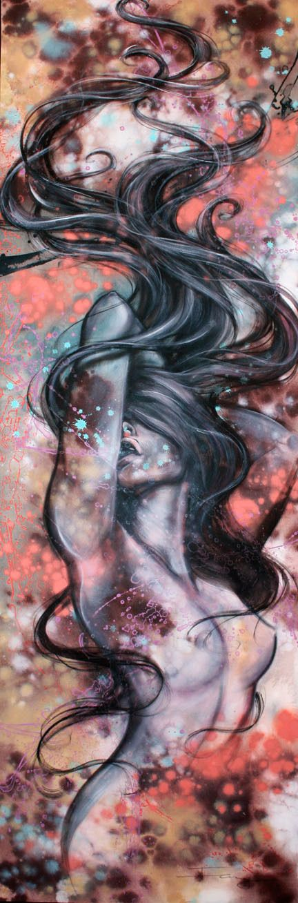 Tattoo design idea. Paintings 2012 by Fang Ling Lee, via Behance