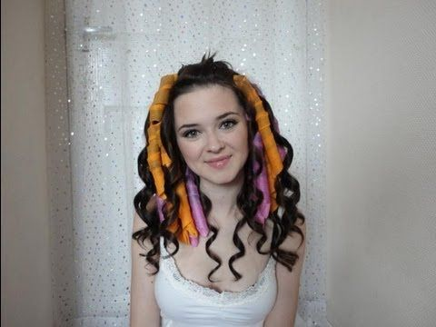 Curlformers. Love her makeup and I do adore the curls. This may really help when braiding my hair.