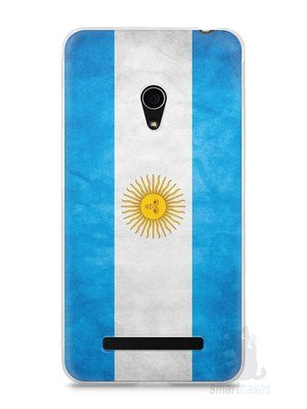Capa Zenfone 5 Bandeira da Argentina