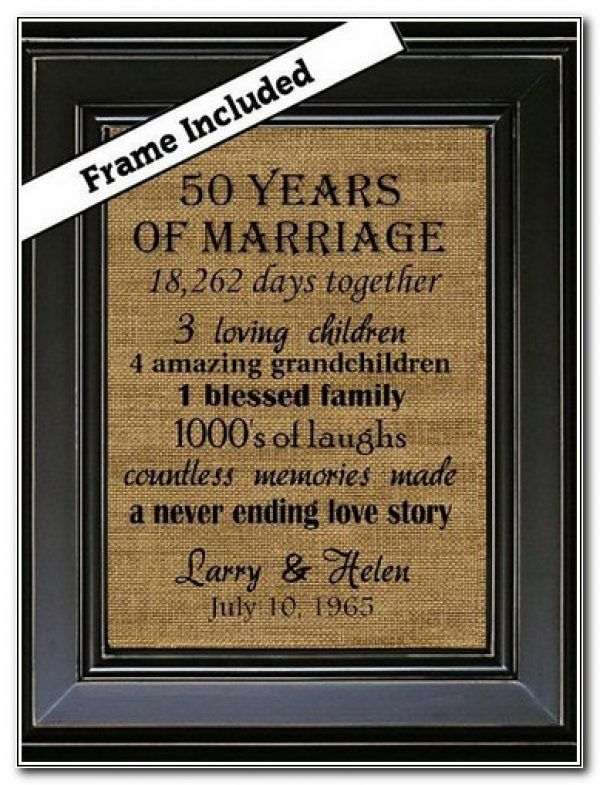 50th Wedding Anniversary Gift Ideas In 2020 25th Anniversary