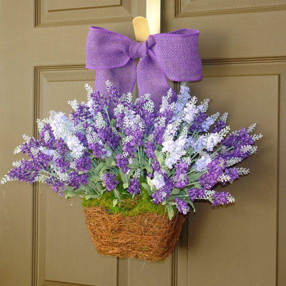 Front Door Decorations For Summer: 17 Best Ideas About Purple Wreath On Pinterest
