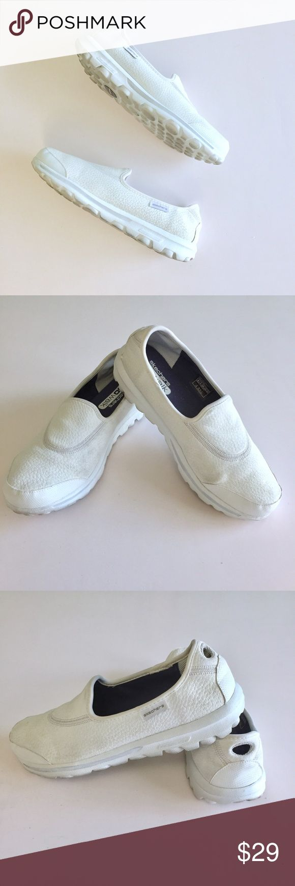 Skechers GOWalk Up for Sale gently used Sketchers GOWalk sneakers. Great condition. Check out my closet, bundle and make me an offer!!! Skechers Shoes Sneakers