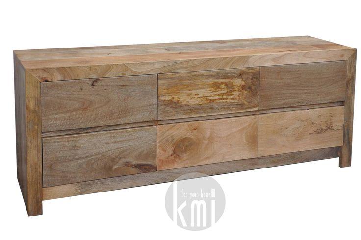 """Meble z kolekcji """"Mango"""" zachwycają przede wszystkim prostotą i funkcjonalnością. Ich ponadczasowy kształt odnajdzie się zarówno w surowym lofcie jak i w klasycznym salonie. Jasne drewno naturalnie wpisze się w klimat otoczenia. #meblekolonialne to połączenie szlachetnych materiałów i praktycznego wzornictwa. http://bit.ly/1y4Imvq"""
