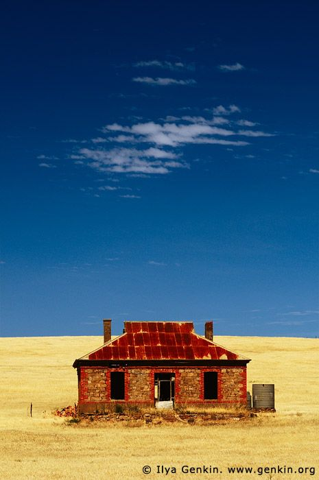 Abandoned Farmhouse  Burra, South Australia (SA), Australia