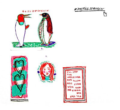 The Story of Meruna - A Girl Who Likes to Art: Meruna: An Artist Book - Part Two #sketchbook #illustration #artistbook