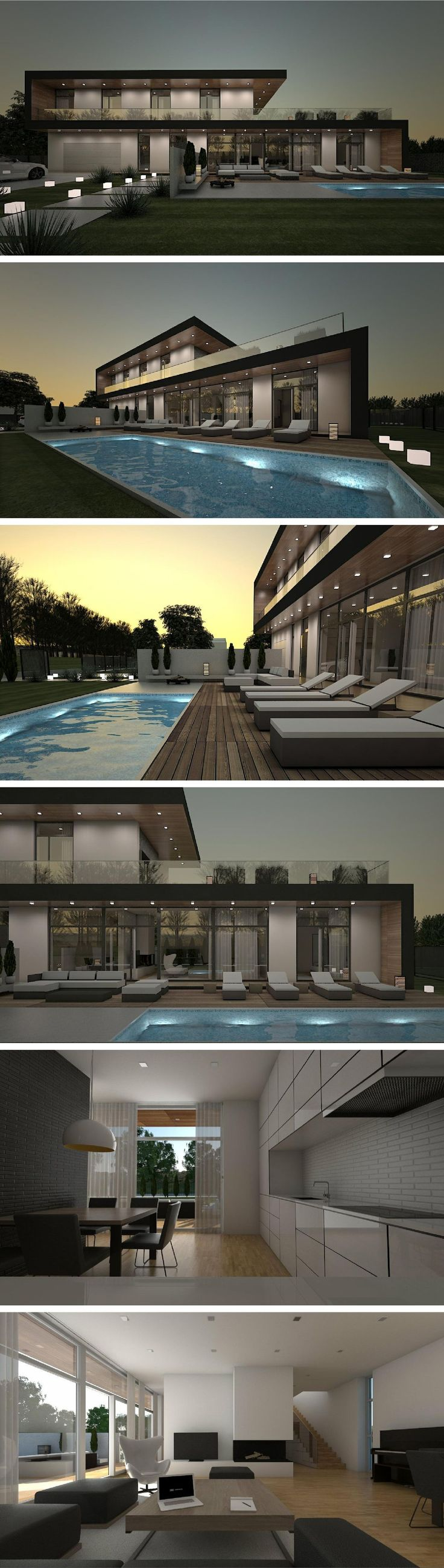 424 best Architecture images on Pinterest Modern houses Modern