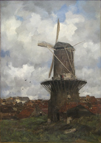 The Windmill - Jacob Maris