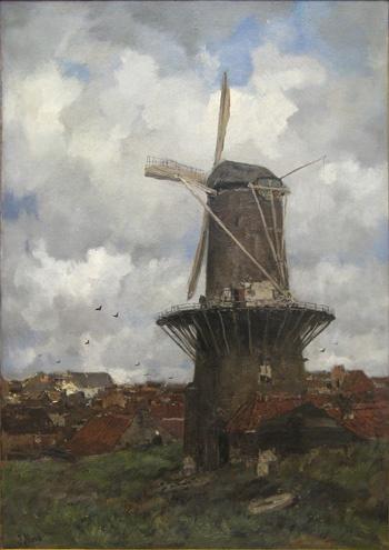 The Windmill - Jacob Maris