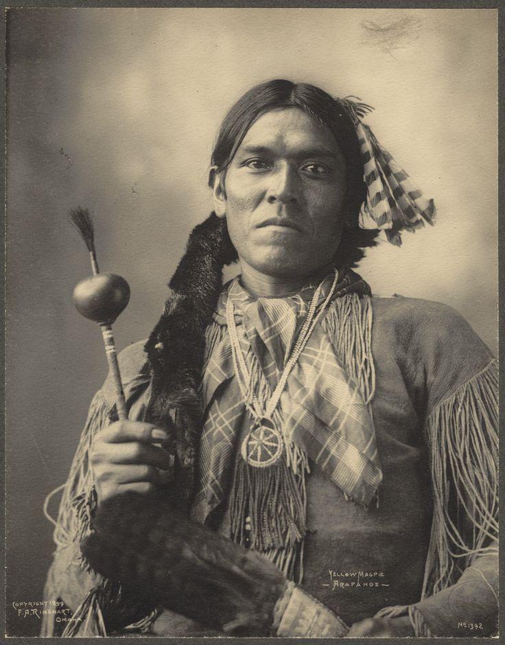 Yellow Magpie, Arapahoe 1898