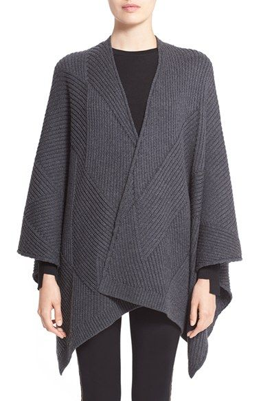 Free shipping and returns on rag & bone 'Blithe' Merino Wool Poncho at Nordstrom.com. Mixed-directional ribbing lends subtle textural intrigue to an oversized merino wool poncho that offers effortless layering in transitioning seasons.