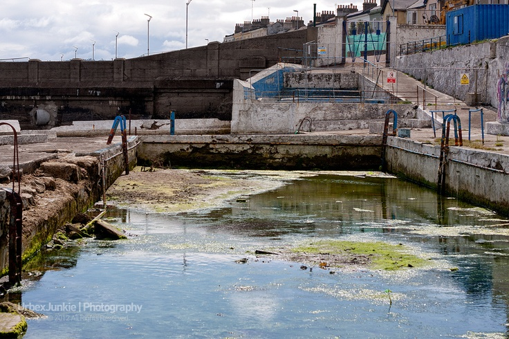 The Dun Laoighre Baths are situated not far from Blackrock ...