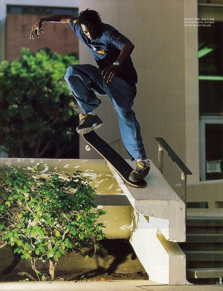 Kareem Campbell - one of my childhood legends