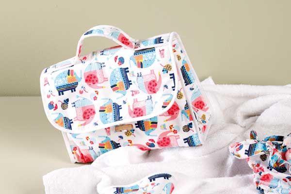 bcbd9eab1b Borsa neonato- Tutorial e cartamodello | Sewing life | Baby sewing ...