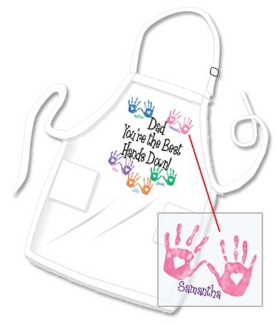 Personalized+Dad+Handprints+Apron+-+%23Christmas+%23ideas