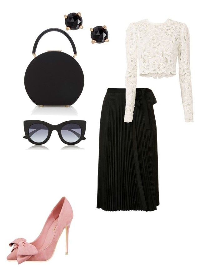 """Untitled #99"" by czirokpanna on Polyvore featuring Tome, BUwood, A.L.C., Irene Neuwirth, Thierry Lasry, GetTheLook, Spring and classy"
