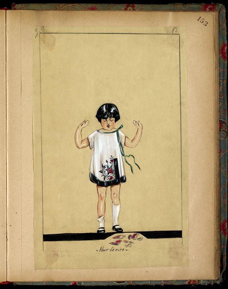 POUR DE RIRE  HIVER 1923-24 © Patrimoine Lanvin. #Lanvin125