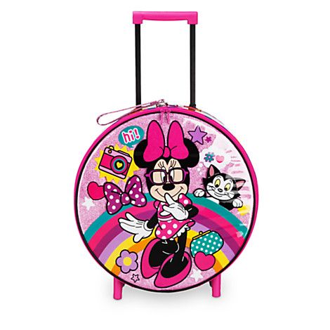 Minnie Mouse Rolling Luggage | Disney Store