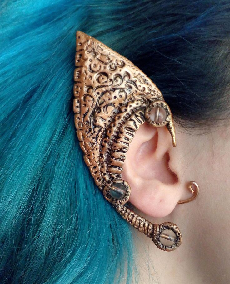 Excited to share the latest addition to my #etsy shop: Elf Ear Cuff / Polymer clay ear cuff / Copper wire ear cuff /Single right ear cuff/ Elven ear #jewelry #earrings #elfearcuff #copperwireearcuff #celtic http://etsy.me/2F6OMTI