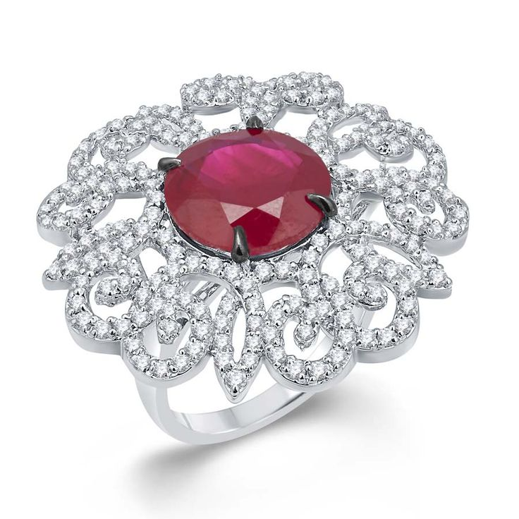 Red Hydro & Swarovski Ring Product Code : ADR1400008  Type : Red Hydro, Swarovski   Color : Red  #SilverRingsForWomen, #SilverRingsForGirl, #BuySilverRingsOnlineIndia,   #SilverRingsShopping, #SilverRingsShoppingOnline, #DesignerRings,   #DesignerSilverRingsOnline, #BuyDesignerSilverRings