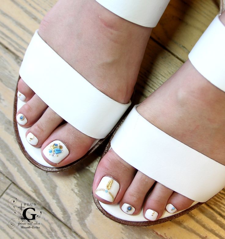 510 best nail art designs images on pinterest nail art designs white bohemian bijoux pedi naildesign foot prinsesfo Gallery