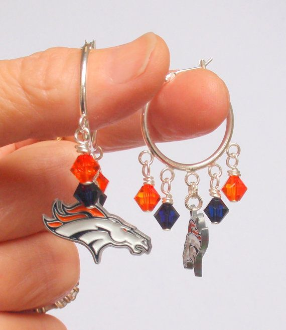 Hey, I found this really awesome Etsy listing at http://www.etsy.com/listing/119351721/silver-denver-bronco-super-bling-hoop