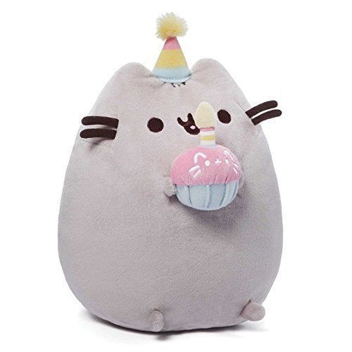 GUND is proud to present Pusheen - a chubby gray tabby cat that loves cuddles, snacks, and dress-up. As a popular web comic, Pusheen brings brightness and chuckles to millions of followers in her rapidly growing online fan base.   eBay!
