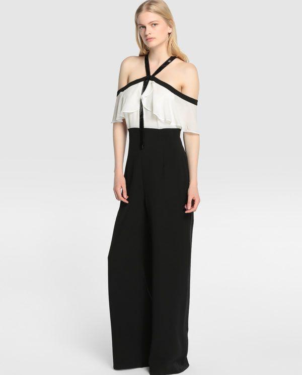 vestidos-de-fiesta-el-corte-ingles-mono-blanco-negro                                                                                                                                                                                 Más