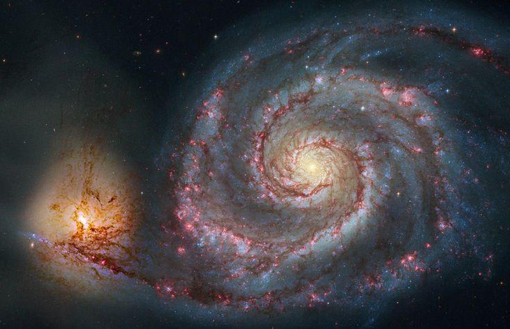 La Galaxia Remolino se localiza en la constelación del perro cazador. Descubierta en 1773, es una de las galaxias espirales más conocidas de...