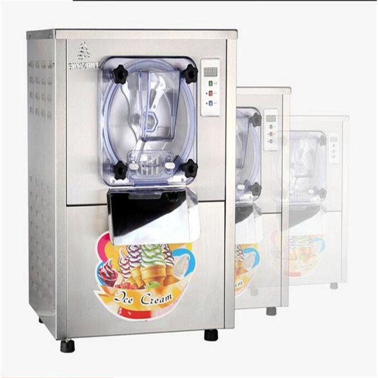 Commercial Large Capacity Ice Cream Machine //Price: $900 & FREE Shipping //     Sale Depot http://saledepot.biz/product/220v-commercial-hard-ice-cream-machine-15-20lh-stainless-steel-ice-cream-maker-with-large-capacity-1400w-free-shipping/    #saledepot