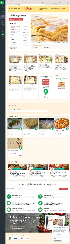 Website'https%3A%2F%2Fwww.przepisy.pl%2Fprzepis%2Fszarlotka-bezglutenowa-12211%23cat%3D537' snapped on Page2images!