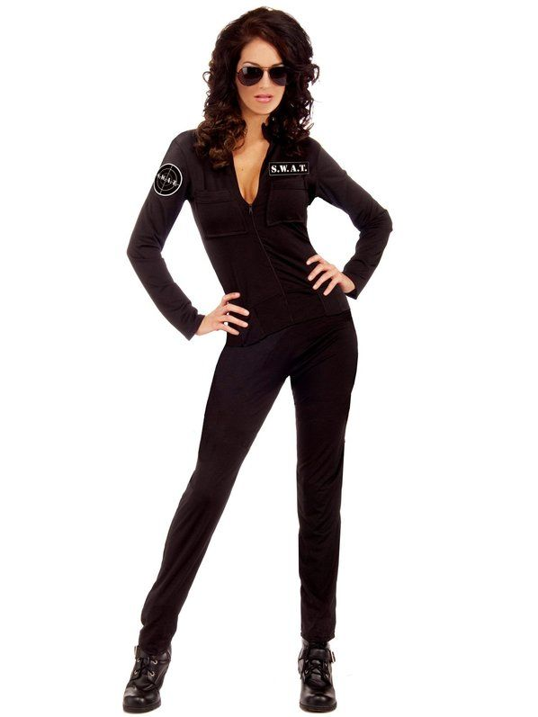 Check out Sexy SWAT Woman Police Costume - Sexy Police Costumes from Anytime Costumes