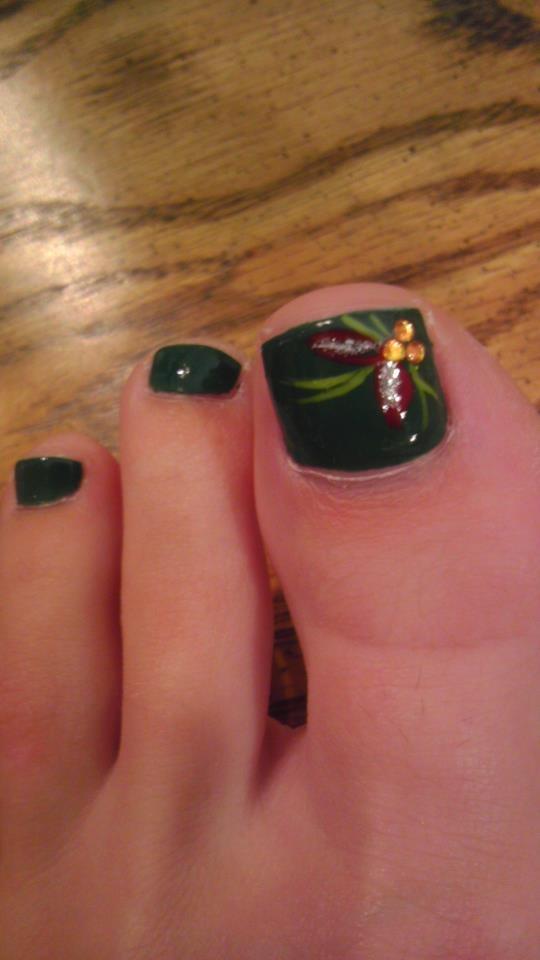 Christmas toes!