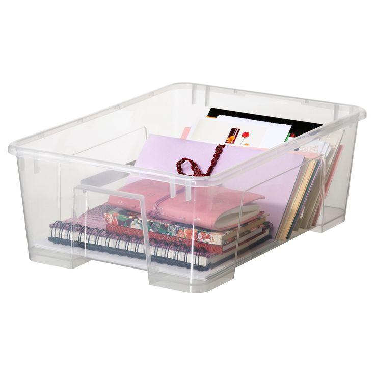 SAMLA Κουτί με καπάκι - IKEA