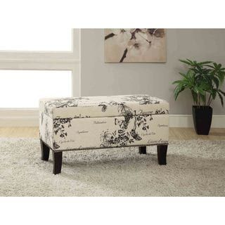 Shop for Linon Patrice Garden Print Storage Ottoman. Get free shipping at Overstock.com - Your Online Furniture Outlet Store! Get 5% in rewards with Club O! - 16404085