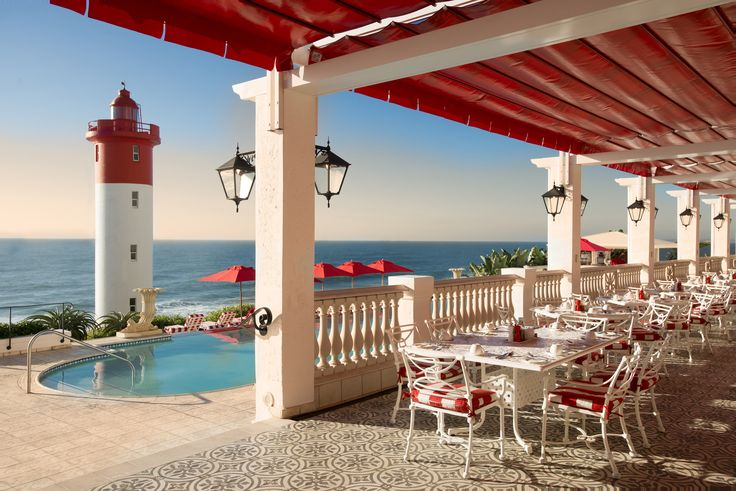The Oyster Box hotel, Umhlanga (near Durban), South Africa ...