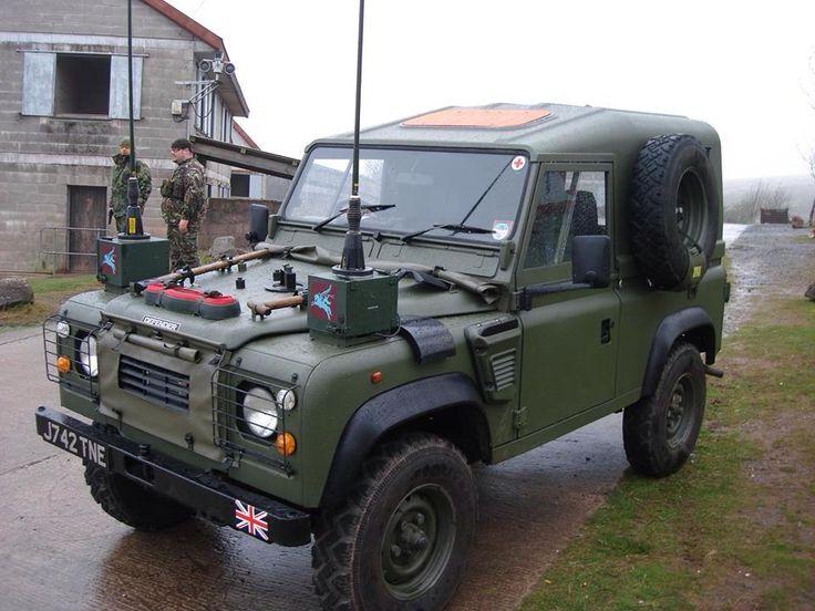 Ex British Forces Land Rover Defender XD Tdi 90 'Wolf' Replica.