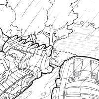 playskool heroes transformers rescue bots coloring page chase - Rescue Bots Coloring Book