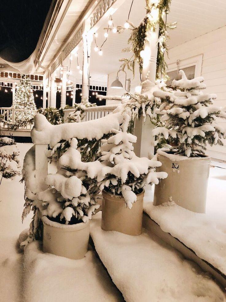 Unser Bauernhaus Winter Veranda – Lizmarieblog.co…