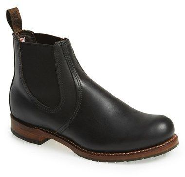 $370, Red Wing Shoes Red Wing Chelsea Boot. Sold by Nordstrom. Click for more info: https://lookastic.com/men/shop_items/288982/redirect