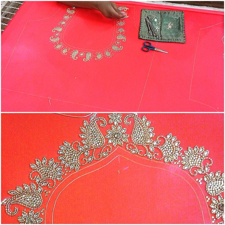 Work in progress ! #prettylook  #designer #couture  #clothing #luxury #apparel  #happiness #embroidery  #intricate #fashion #bridal #wedding #red # #lehenga #blouse #details #tassels #ethnic  #indianfashion #fashionista #ootd  #glamour  #party #bespoke  #apparel #colors #shaadi