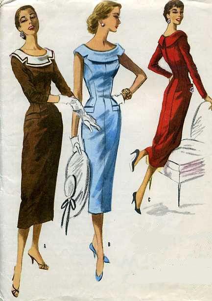 Vintage patterns!