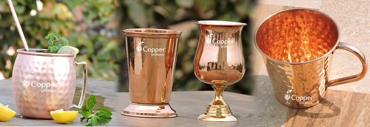 Copper Utensils Online Shop : Why are copper mugs better for serving Moscow Mule...